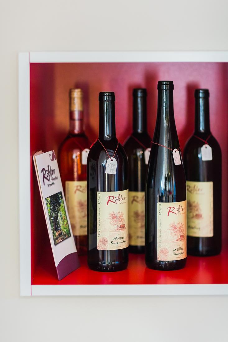 Weinauswahl vom Winzer in der Nähe